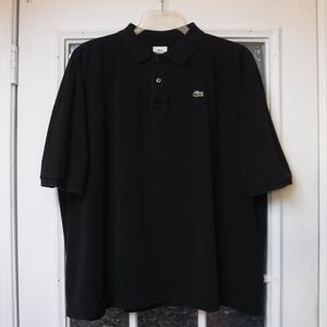 *Lacoste Authentic Black Short/S Collar Shirt*